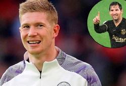 De Bruyne phản ứng ngạc nhiên về khả năng đá cặp với Messi