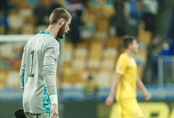 De Gea mắc lỗi khiến Tây Ban Nha nhận thất bại đau đớn
