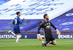 De Gea được chấm điểm thấp thậm tệ trong trận MU vs Chelsea