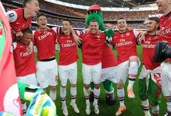 Đội hình Arsenal vô địch FA Cup chia tay người cuối cùng