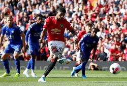 """MU vs Leicester: """"Quỷ đỏ"""" chỉ thay đổi 1 vị trí trong đội hình"""