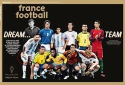 """Messi phản ứng gì khi góp mặt ở """"Đội hình trong mơ""""?"""