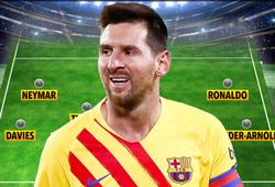 Messi bị gạt khỏi đội hình xuất sắc nhất năm có Ronaldo và Neymar