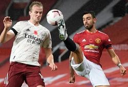 MU đáng xấu hổ với hàng công trên sân nhà sau trận thua Arsenal