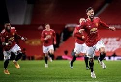 HLV MU tiết lộ thành quả cú đá phạt của Fernandes trước Liverpool