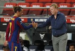 "Koeman ""dằn mặt"" Griezmann sau đòi hỏi về vị trí ở Barca"