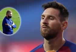 HLV Koeman lần đầu tiên nói về Messi sau quyết định ở lại Barca