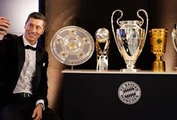Choáng với 11 danh hiệu của Lewandowski trong năm 2020