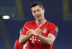 Lewandowski ghi nhiều bàn thứ 3 trong lịch sử Champions League
