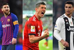 Lewandowski, Messi hay Ronaldo ghi hơn 40 bàn một mùa tốt nhất?
