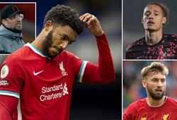 Liverpool còn bao nhiêu trung vệ sau khi mất Van Dijk và Gomez?