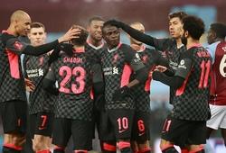 Liverpool tạo ra điều kỳ lạ ở FA Cup sau khi thắng Aston Villa