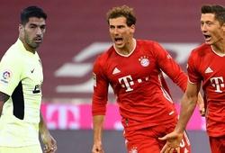 """Luis Suarez """"phát ốm"""" vì phải nhận số bàn thua trước Bayern Munich"""
