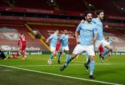 Man City san bằng kỷ lục bóng đá Anh sau khi thắng đậm Liverpool