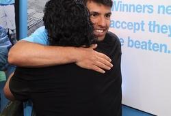 Con rể cũ Aguero tiếc thương Diego Maradona
