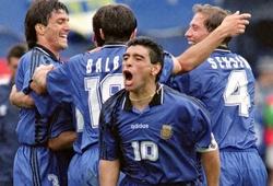 Xem lại bàn thắng cuối cùng của Maradona cho Argentina