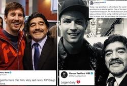Messi cùng các siêu sao tưởng nhớ đến Maradona