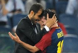 Sterling sánh ngang thành tích của Messi và Aguero với Guardiola