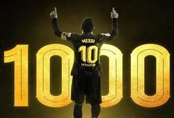 Messi tham gia trực tiếp vào 1000 bàn thắng như thế nào?