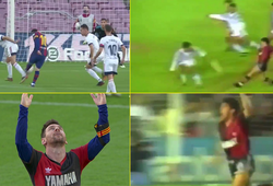 Messi lặp lại bàn thắng giống như Maradona với Newell's