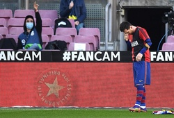 Messi ăn mừng theo cách đặc biệt để tưởng nhớ Maradona