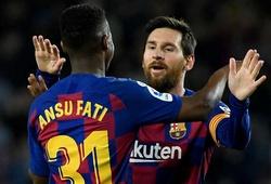 """Messi khiến Levante """"khiếp vía"""" với hiệu suất ghi bàn ở Nou Camp"""