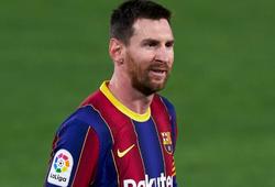 """Barca bị """"troll"""" bằng bức ảnh giả của Messi trong bộ đồ PSG"""