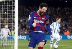 Messi săn lùng mục tiêu kép trước Pele và Oyarzabal