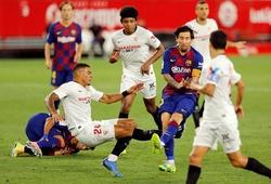 """Cận cảnh vết sẹo của Messi sau khi """"dính đòn"""" ở trận gặp Sevilla"""