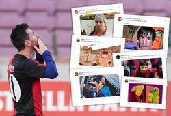 Messi bị phạt vì tưởng nhớ Maradona gây phản ứng từ người hâm mộ