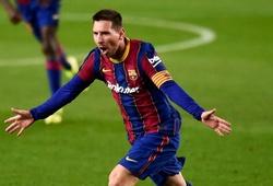 Messi ăn mừng bàn thắng thứ 650 với Barca theo cách đặc biệt