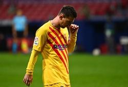Messi gây sốc với thống kê đáng lo ngại ở trận Barca vs Atletico
