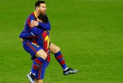 Messi cần bao lâu để ghi bàn cho Barca từ ghế dự bị?
