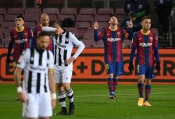 Messi lần đầu đóng vai quyết định cho Barca sau 9 tháng