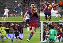 Messi ghi bao nhiêu bàn ở Champions League sau 15 năm?