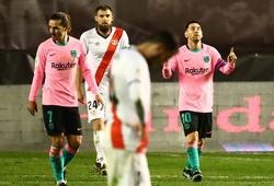 Messi ghi bàn sau án phạt và tiếp tục là ác mộng của Rayo