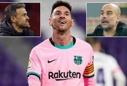 Messi tôn vinh 2 ông thầy cũ Pep Guardiola và Luis Enrique