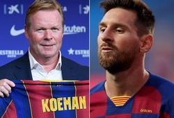 """Koeman tiết lộ hành trình đưa Messi ra khỏi """"cơn bão"""" với Barca"""