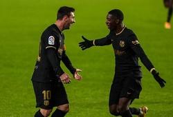 Messi sút phạt đẹp mắt để độc chiếm ngôi Vua phá lưới La Liga