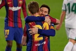 Messi đang theo đuổi kỷ lục ghi bàn trong tháng 2 với Barca