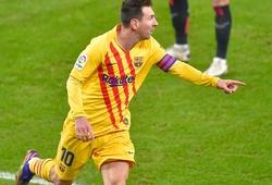 Messi lập cú đúp cho Barca và hoàn tất thêm một cột mốc