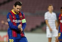 Messi ghi được bao nhiêu cú đúp cho Barca trong sự nghiệp?