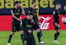 Messi lập kỷ lục mất bóng tồi tệ nhất mùa giải này với Barca