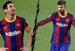 SỐC: Messi cắt đứt quan hệ với Pique, phòng thay đồ Barca dậy sóng