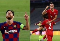 Kỳ lạ về đội vô địch Champions League nếu thắng ở cặp Barca vs Bayern
