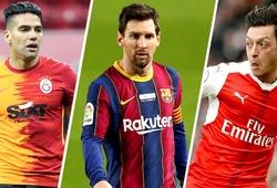 Messi, Ronaldo, Ozil và những ngôi sao có thể chuyển đến MLS