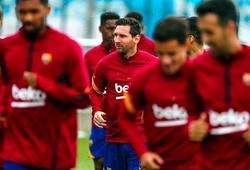 Những hình ảnh đầu tiên của Messi khi tập luyện với đồng đội