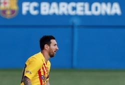 Hình ảnh thay lời muốn nói của Messi với Barca trên mạng xã hội