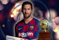"""Messi được bầu là """"tiền vệ kiến thiết"""" xuất sắc nhất thập kỷ"""