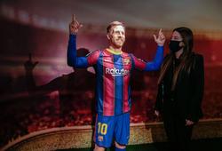 Tượng sáp Messi bị chê giống đồng đội của Ronaldo nhiều hơn